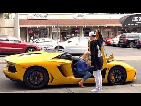 Luxury Cars Gold Digger Pranks - EXPOSING HOT GIRLS - Social Experiments 2016
