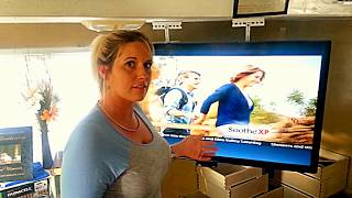 How to make a TV CEILING mount under $10 To Fit ANY Size TV