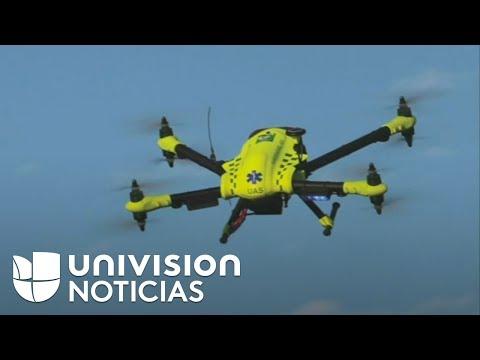 La nueva generación de drones podría salvar vidas