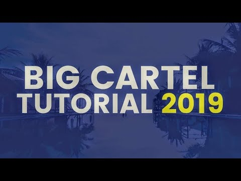 BIG CARTEL TUTORIAL 2019 | HOW TO DESIGN AN ECOMMERCE WEBSITE - FREE