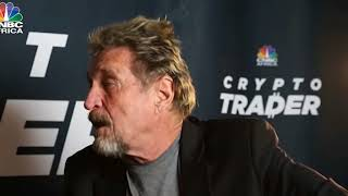 McaFee:1 Bitcoin worth $1million By 2020 Or Ill Eat My Dick
