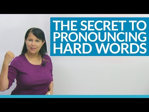 Speak English Naturally: My pronunciation secret for difficult words