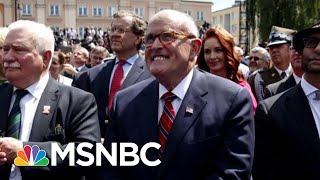 Rudy Giuliani Disowns Remarks On Moscow Project | Morning Joe | MSNBC