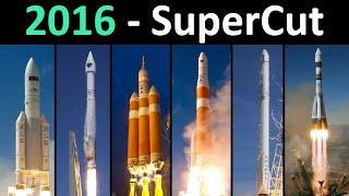 Rocket Launch Compilation (SuperCut) | Go To Space