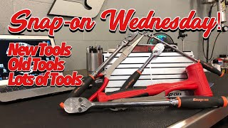 SNAP-ON WEDNESDAY! - New Tools, Old Tools, Lots Of Tools!