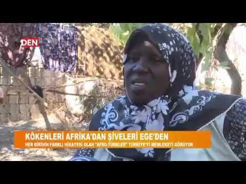 Kökenleri Afrika şiveleri Ege'den siyahi Türkler