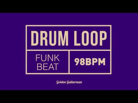 Funk Drum Loop 98 BPM