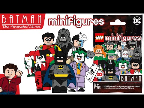 LEGO Batman The Animated Series 27th Anniversary CMF Series