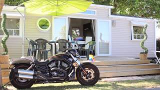 Visite au camping le Nid d'été