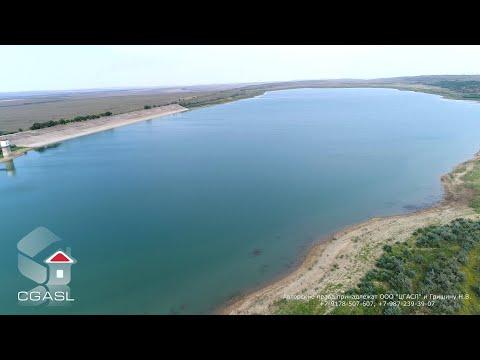 Аэросъемка Керченского водохранилища