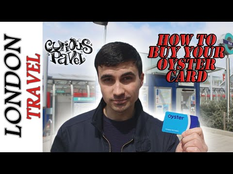 How to Buy an Oyster Card - 3 Simple Ways | Travelling in London