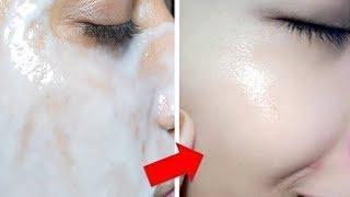 15 Dakika Gibi Kısa Bir Sürede Yüzünüz Bembeyaz Olacak  (Beyazlatıcı Doğal Yüz Maskeleri)