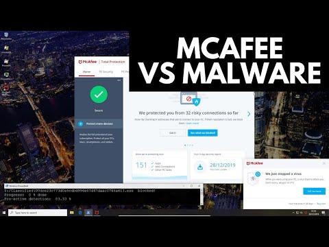 McAfee Total Protection 2020 Test vs Malware