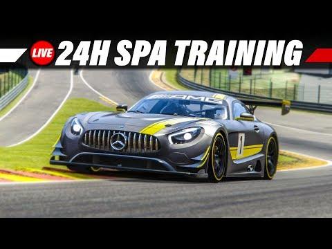 1. Training für die 24 Stunden von Spa | Assetto Corsa Gameplay German