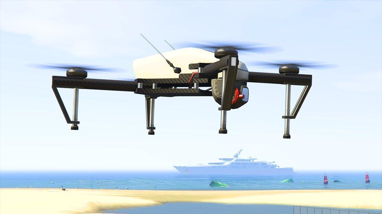 Gta v diamond casino heist drone