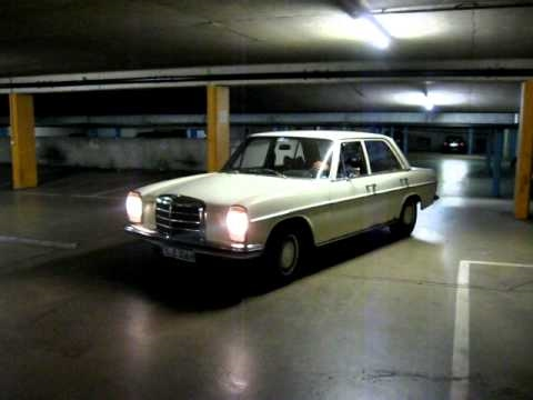 mercedes w 114 8 mit lenkradschaltung 05er serie youtube. Black Bedroom Furniture Sets. Home Design Ideas