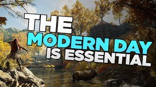 Assassin's Creed Odyssey - The Modern Day Is Essential