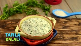 Coriander Curd Rice (8 To 9 Month Old Babies) By Tarla Dalal