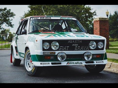 1978 WRC Champion Fiat Abarth 131 'Alitalia' Group 4 - One Take