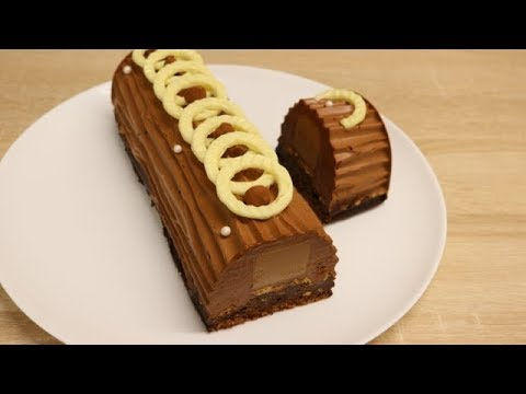 Buche au chocolat praline facile