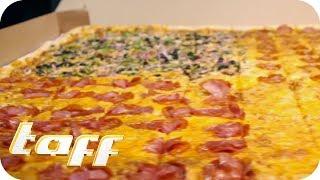 Die größte bestellbare Pizza der Welt - Food-Trends 2019 aus Hollywood! | taff | ProSieben