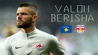VALON BERISHA - Awesome Skills, Goals, Tackles - RB Salzburg - Europa League 2017/2018