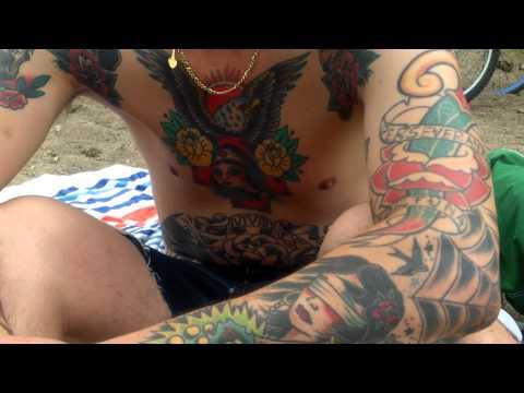 Hidden Beach Tattoos 7-6-13 CEDAR LAKE Minneapolis MN -1/1
