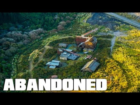 ABANDONED Old Mining Settlement and Carbonization Plant AMAZING! - New Zealand
