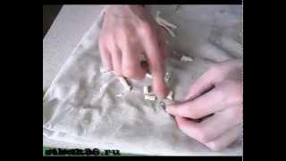 Як зробити штучного опариша.