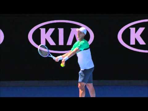 Yuki Bhambri v Tomas Berdych highlights (1R) | Australian Open 2016