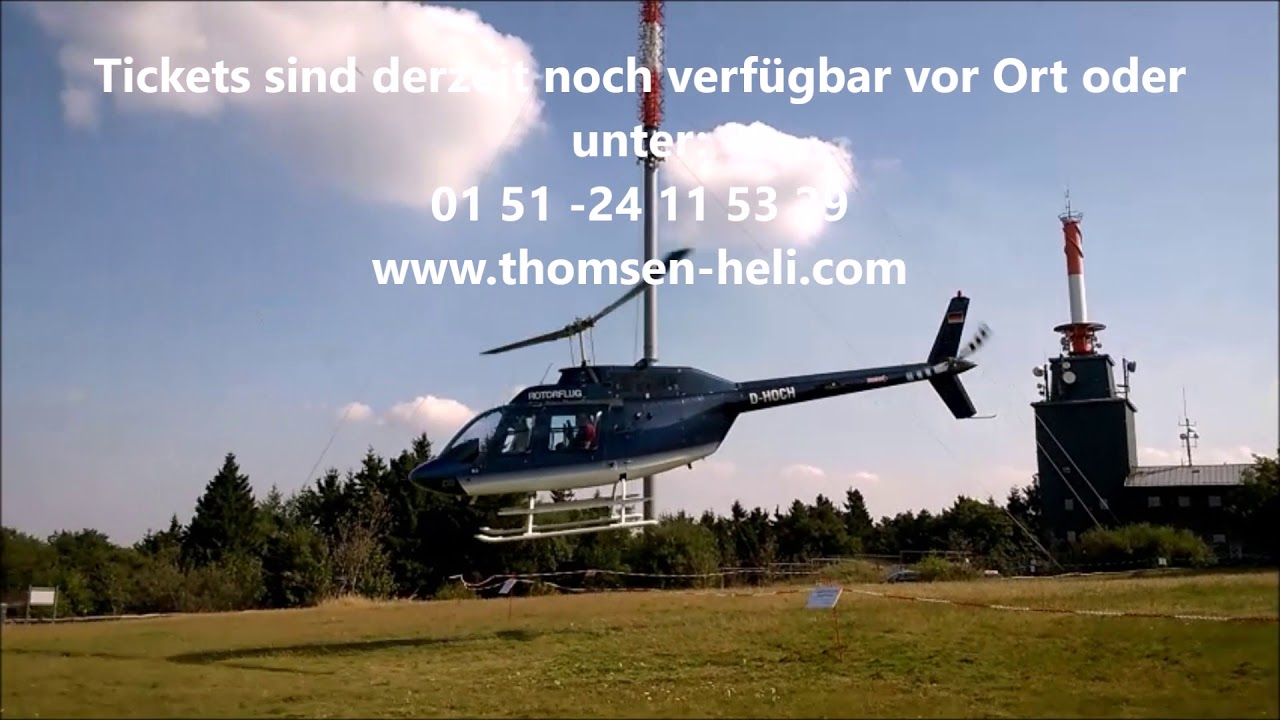 3. Feldberg Heli-Event, 16. September 2017, thomsen Heli-Service ...