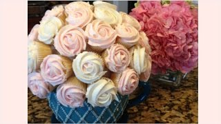 How To Make A Cupcake Flower Bouquet