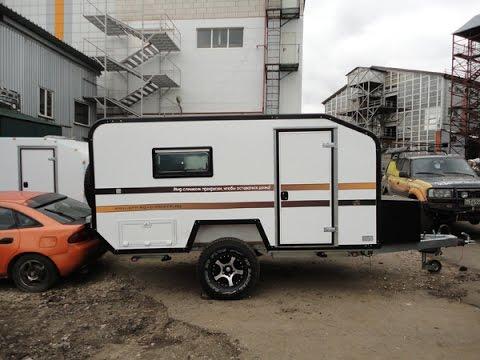Mini Off Road Camper Via Lander Trip To Crimea Youtube