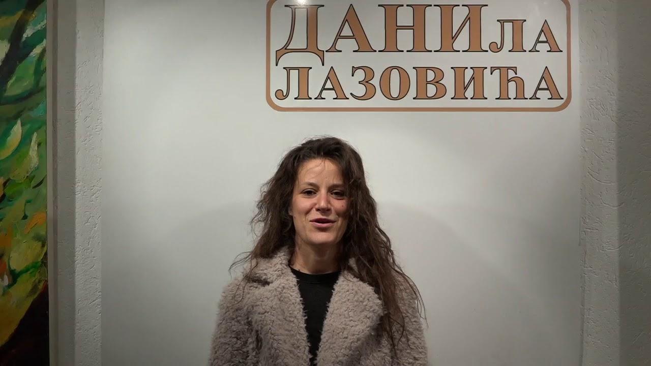 Ivana Nikolić, glumica Beogradskog dramskog pozorišta ...