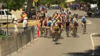 Tour Down Under 2010 Stage 3 Race Highlights