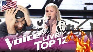 "The Voice 2017 CHLOE KOHANSKI - Top 12: ""Thank You"" | REACTION"