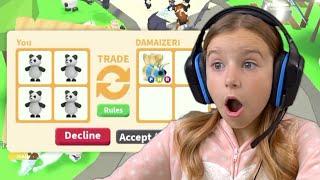 I Trade ONLY Pandas in ADOPT ME!! Sopo Squad Gaming!