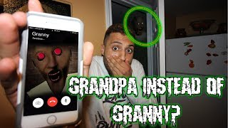 CALLING GRANNY ON FACETIME AT 3 AM | HIDE AND SEEK WITH GRANNY (GRANDPA CAME TO MY HOUSE)