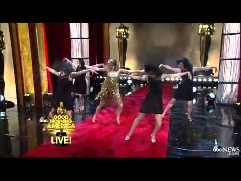 Ginger Zee Wows in Oscar-Worthy Dance With Derek Hough