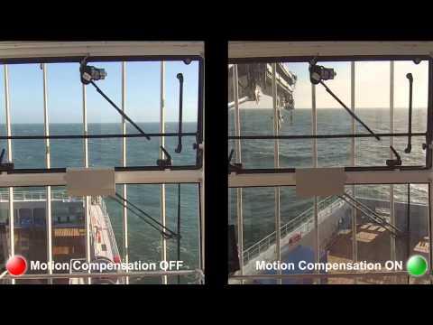 BM T40 Motion Compensated Knuckle Boom Crane