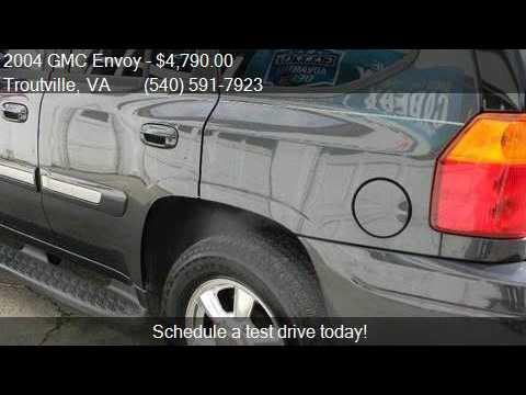 2004 GMC Envoy SLT 4WD 4dr SUV for sale in Troutville, VA 24