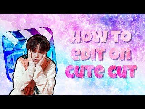 how to make a beginners edit on ccp || cute cut ✂️