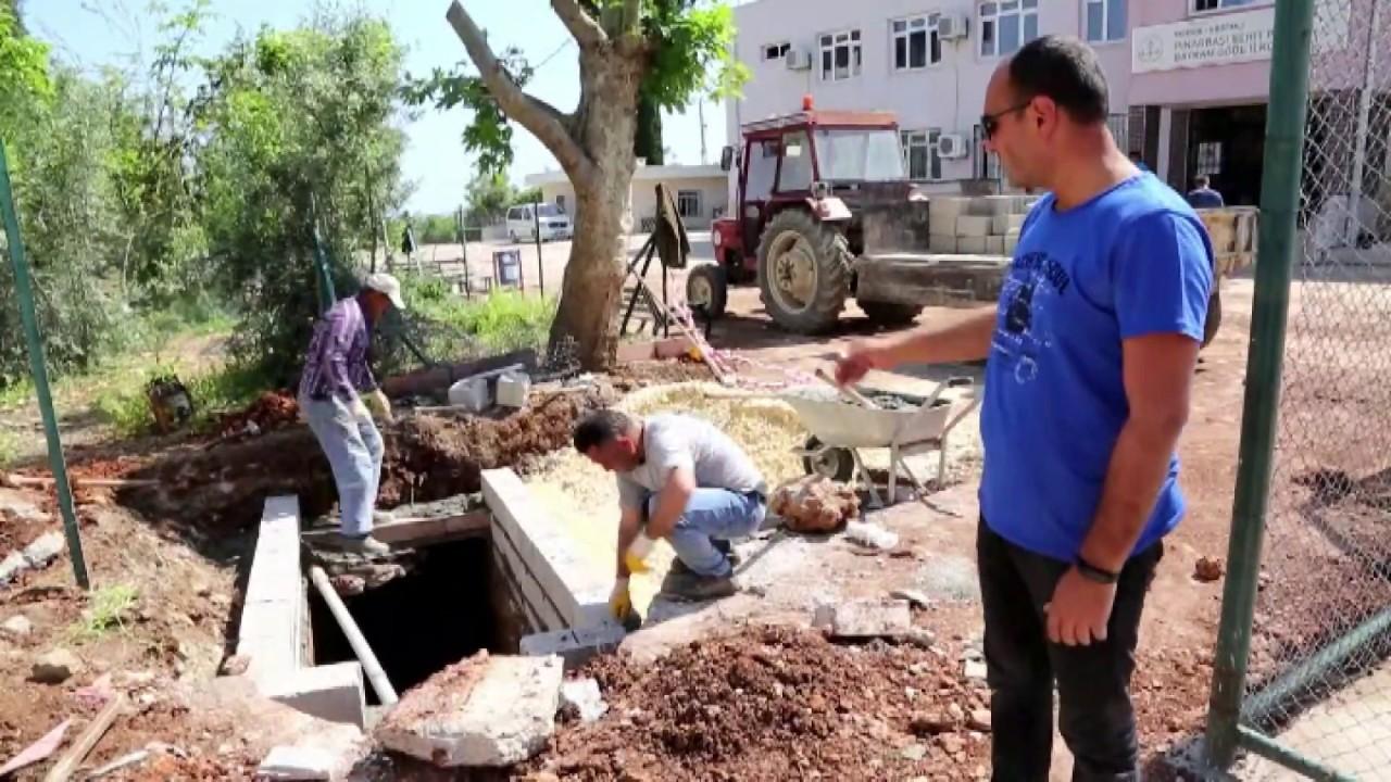 Erdemli Belediyesi'nden Su Taşkınlarına Önlem