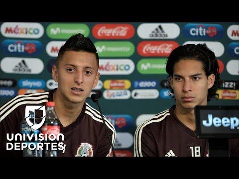 Lainez y Alvarado ven en el Tri del 'Tuca' Ferretti su oportunidad perfecta