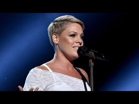 Pink Brings Down the House with Powerful Performance at the 2018 GRAMMY Awards