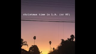 Christmas in L.A. (or NY) [Lyric Video] - OHEI & 500 Year Food
