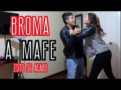 BROMA A MAFE - *se acabo Alejo&Mafe*   Alejo Suárez