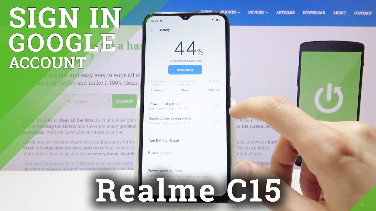 Download How to Extend Batter Life in Realme C15 – Turn ON / OFF Power Saving Mode