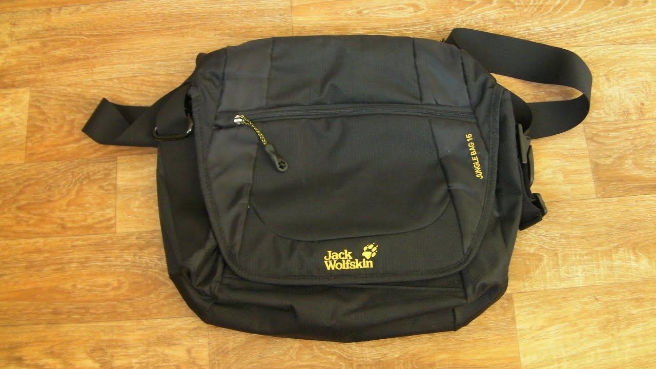 bbae97252c Обзор сумки Jack Wolfskin Jungle Bag 15 - YouTube