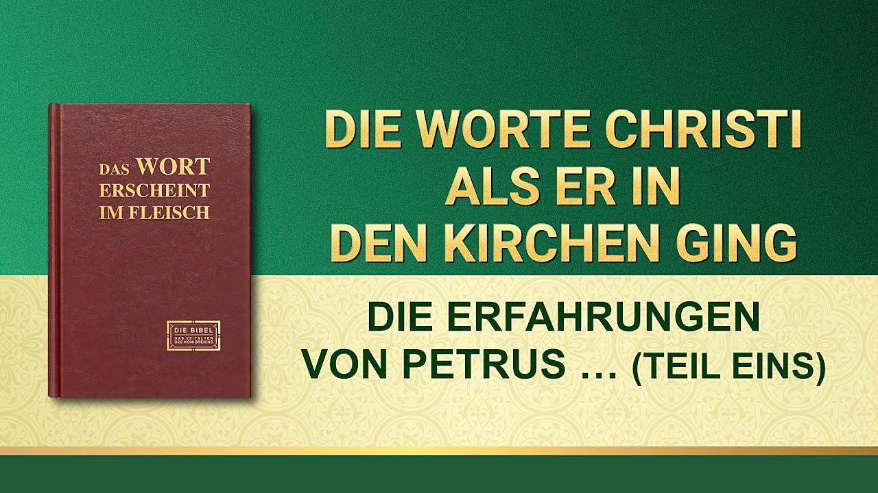 Das Wort Gottes | Die Erfahrungen von Petrus: Sein Wissen um Züchtigung und Urteil (Teil Eins)